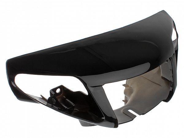 Steering shield - metal black
