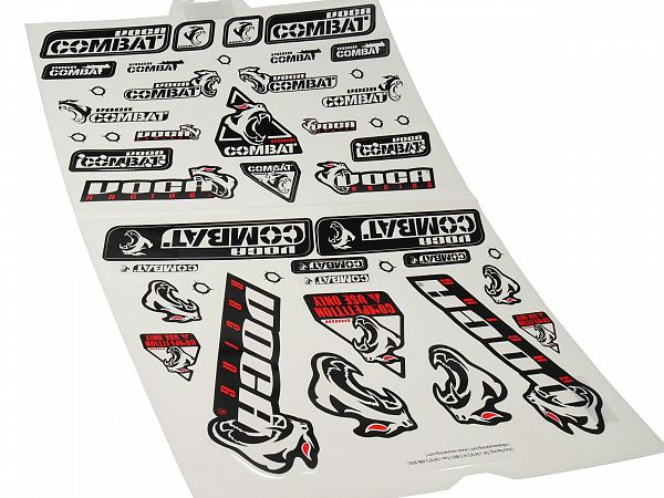 Sticker sheet - Voca sheet 38X60cm