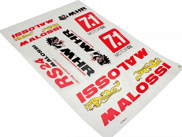 Stickerark - Malossi A3 V. 2 klistermærkesæt