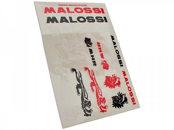 Stickerark - Malossi Color stickersæt - 11x16,8cm