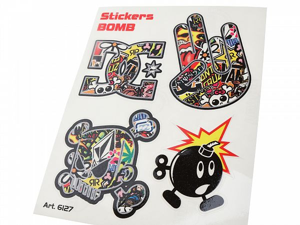 Stickerark - Mix