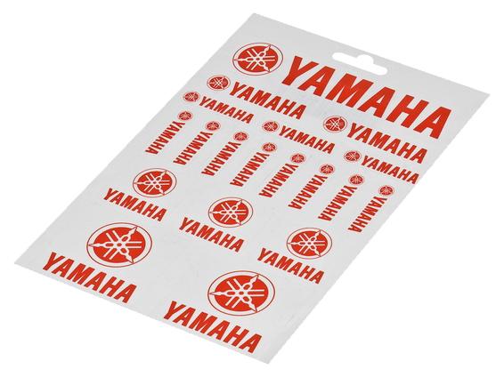 Stickerark - Yamaha ark, rød