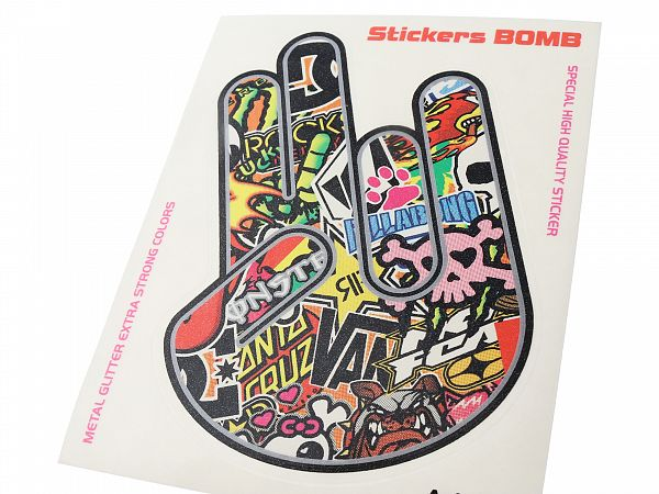 Stickers - 2-in-pink