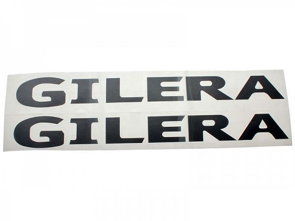 Stickers - Gilera 2stk. sort