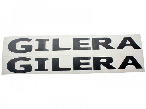 Stickers - Gilera 2stk. sort