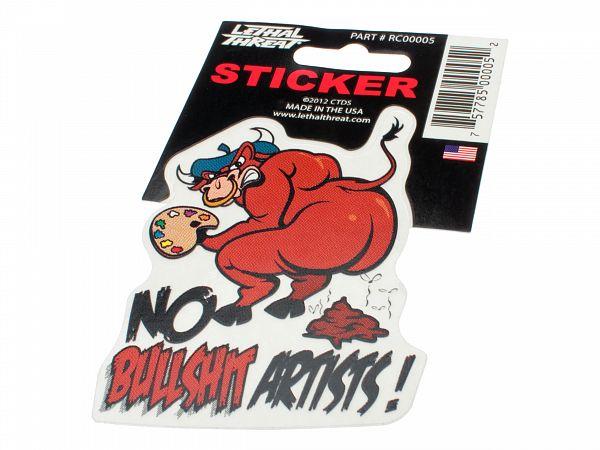 Stickers - Lethal - No Bullshit Artist