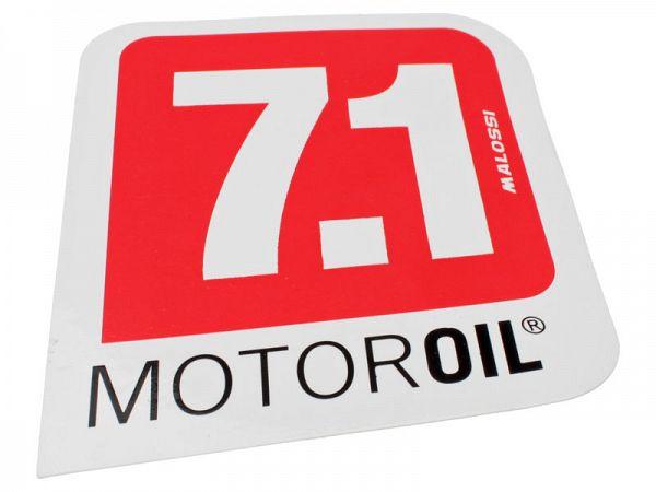 Stickers - Malossi 7.1 - 8,5 X 7,5cm