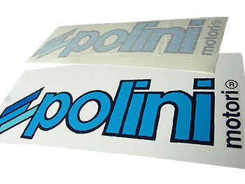 Stickers - Polini, sort, 34x11 cm
