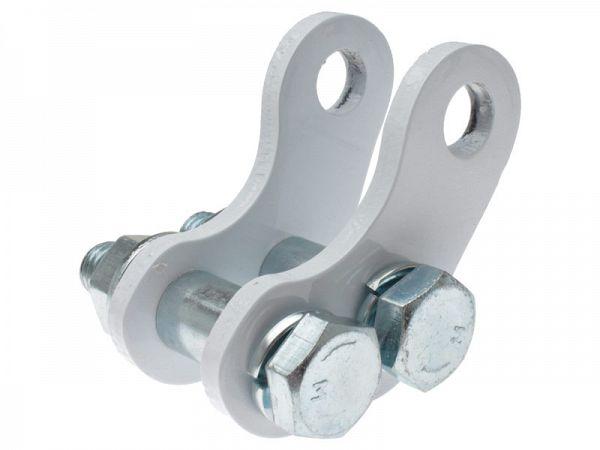 Støddæmperforhøjer - TunR - hvid