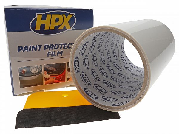 Stone chip foil - HPX 150mm x 2m, transparent
