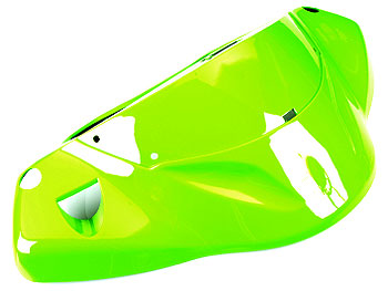 Styrskjold - grøn