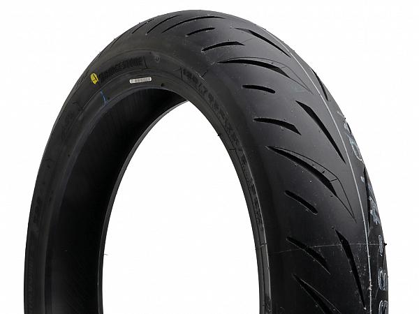 Summer tires - Bridgestone Battlax S22 front tires 120 / 70-17