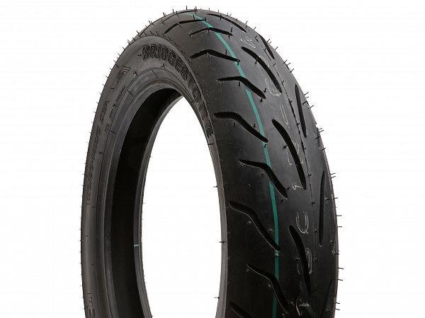 Summer tires - Bridgestone Battlax SC - 110 / 80-14