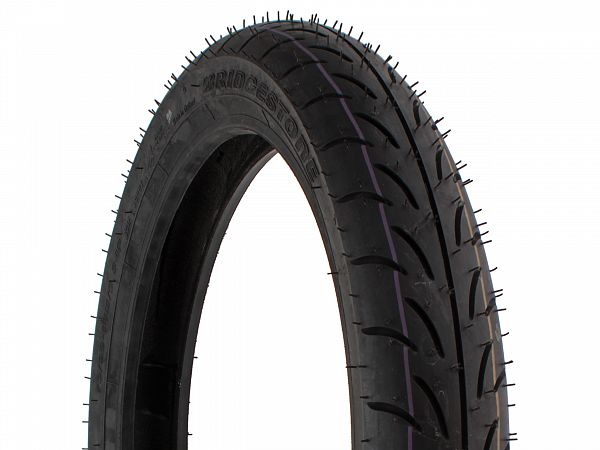 Summer tires - Bridgestone Battlax SC 70 / 90-14 (front tire)
