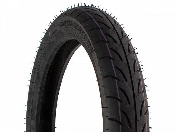 Summer tires - Bridgestone Battlax SC 70 / 90-14 (front tire)