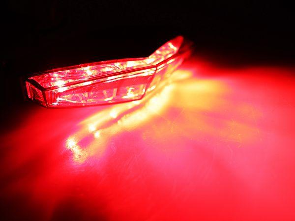 Taillight - red/smoke - TunR