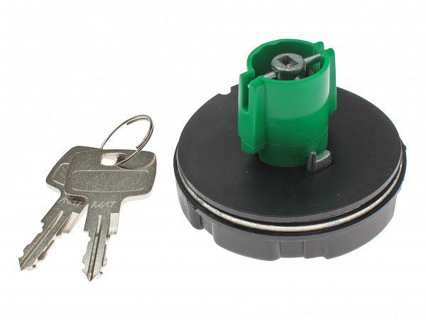 Tankdæksel med lås - 65mm