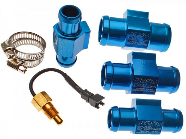 Temperature sensor incl. water hose adapter - Stage6 / Koso