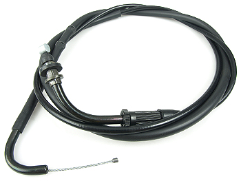 Throttle cable, from throttle to carburetor - original