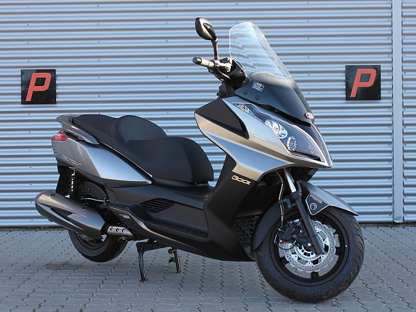 *TILBUD* Kymco Downtown 300i ABS - grå - MC-scooter