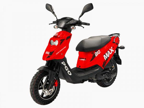 *TILBUD* PGO Big Max SP - rød/sort - 45 km/t