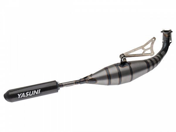 Udstødning - Yasuni Carrera 40 - Black Aluminium