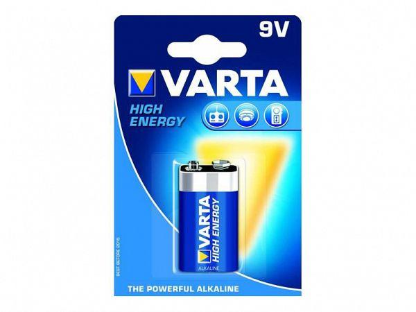 Varta Plus 9V Batteri