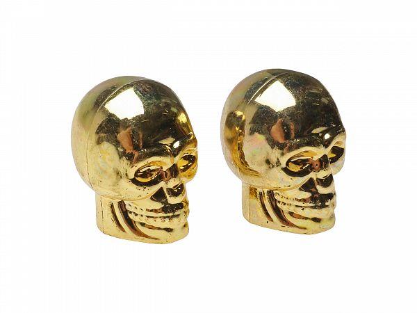 Ventilhætter - Oxford Skeleton - guld