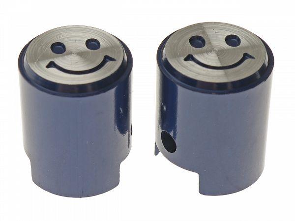 Ventilhætter - Piston V.2, blå