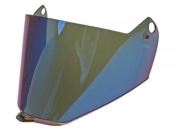 Visir - LS2 MX436, iridium blå - Uden Pinlock