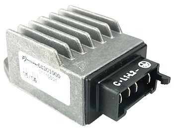 Voltage regulator / rectifier with built-in flashing relay - original