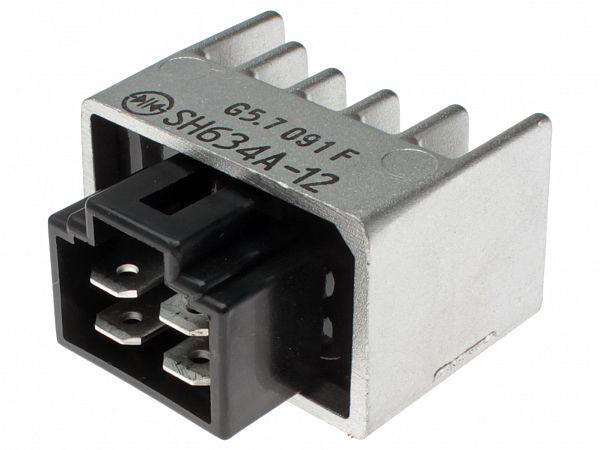 Voltage regulator with turn signal relay - original