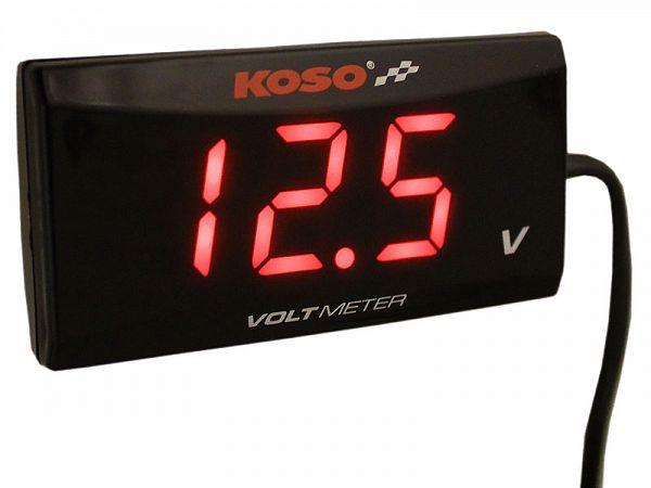 Voltmeter - Koso Slim Style