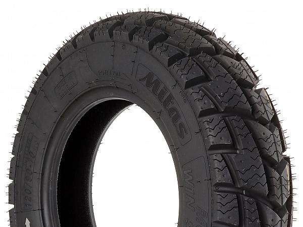 Winter tires - Mitas MC32 Win Scoot M + S - 120 / 90-10