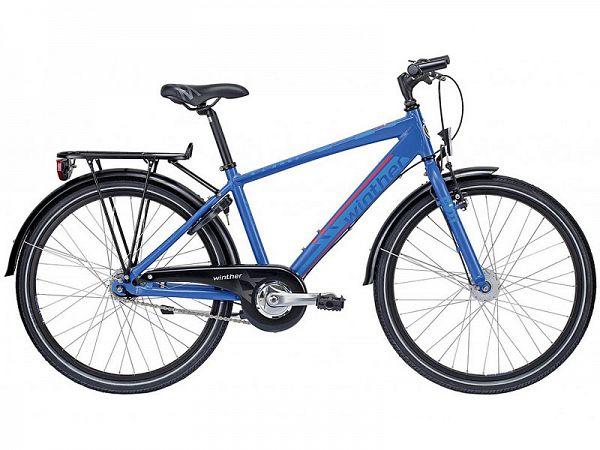 """Winther 350 Dirt 7g 24"""" blå - Børnecykel - 2015 (Udstillingsmodel)"""