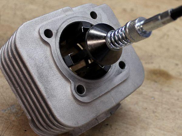 Workshop work - Honing of cylinder
