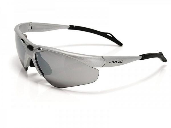 XLC Tahiti sølv Solbriller, 3 Linser
