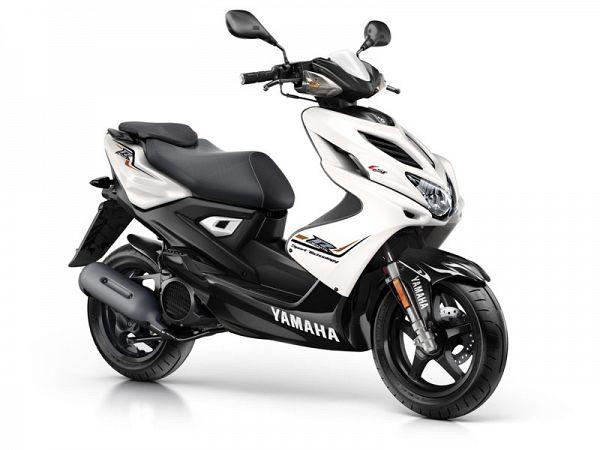 Yamaha Aerox 4 - absolute white - 45km/t