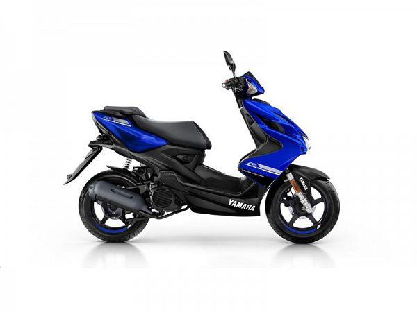 Yamaha Aerox 4 - blå - 45 km/t