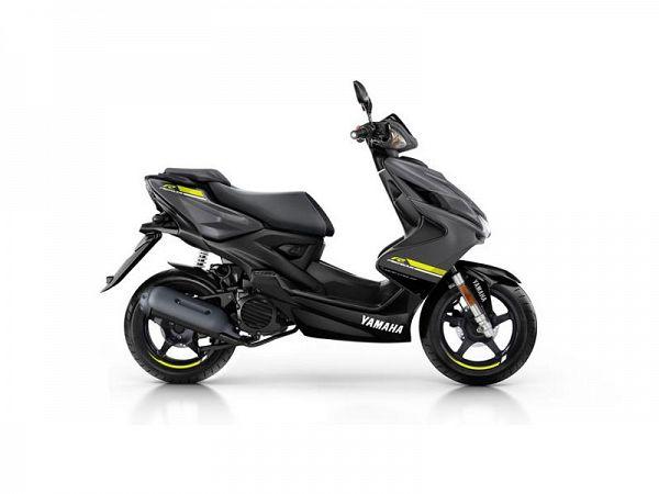 Yamaha Aerox 4 - matgrå - 45 km/t