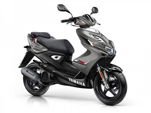 Yamaha Aerox 4 - matgrå - 45km/t