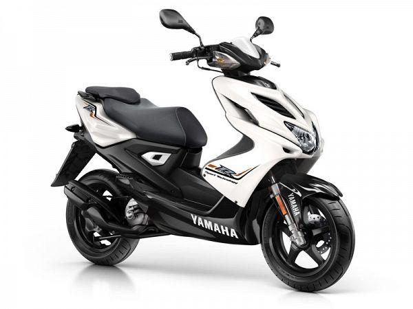 Yamaha Aerox R - absolute white - 45km/t