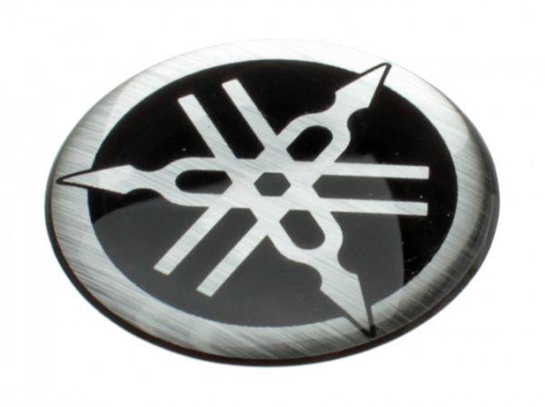 Yamaha logo 3D - ø30mm - originalt
