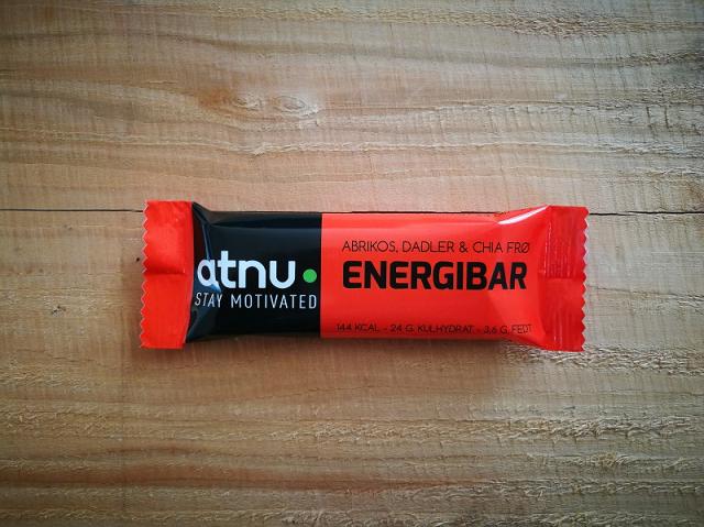 ATNU Energybar Abrikos, 40g