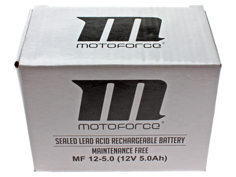 Batteri - Motoforce 12V 5Ah YB4L-B