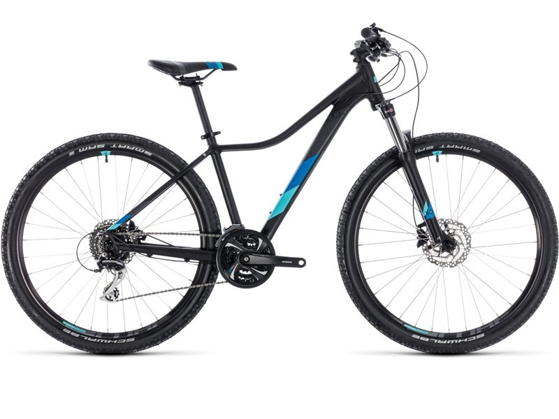 """Cube Access WS Exc 27.5"""" sort - Dame MTB - 2018"""
