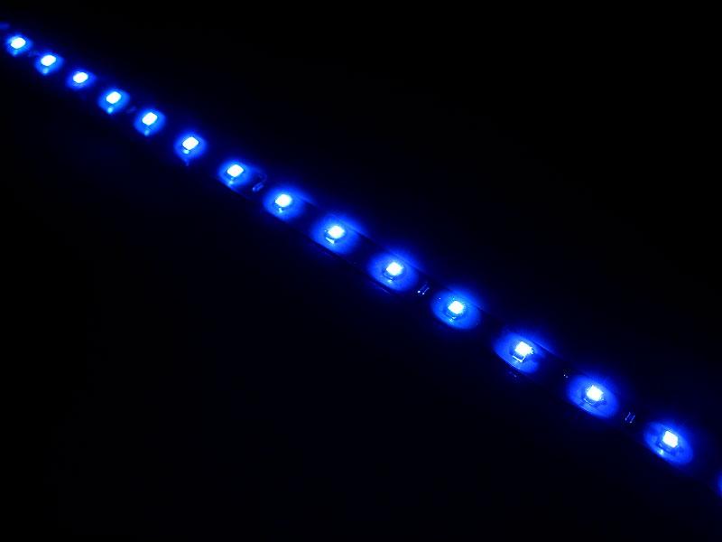 LED-bånd 12V 60cm, blå
