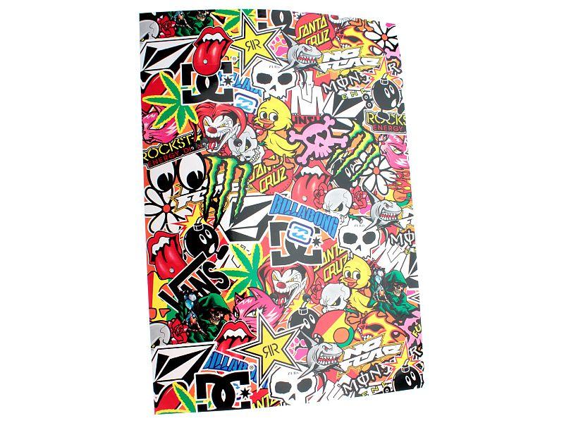 Stickers - Stickerbomb, 34x24cm