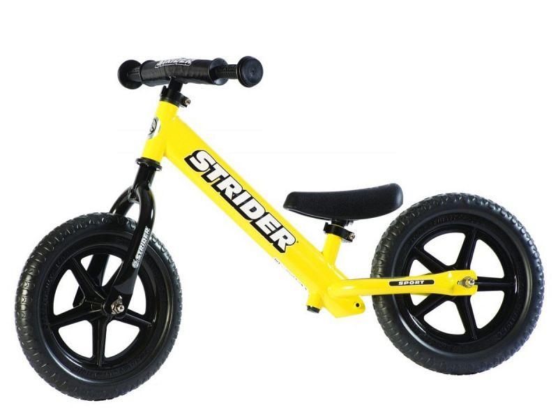 "Strider Sport 12"" gul - Løbecykel - 2019"