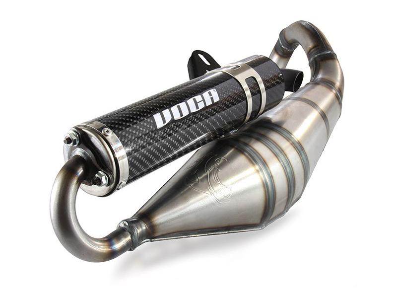 Udstødning - Voca Sabotage 50/70ccm, carbon